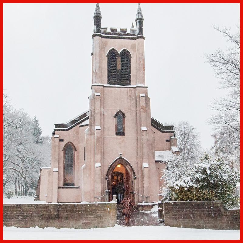 Christmas St James Mere Green 11